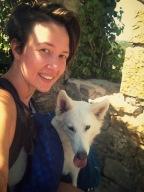 petit selfie de notre tandem dans la cité médiévale d'Obidos